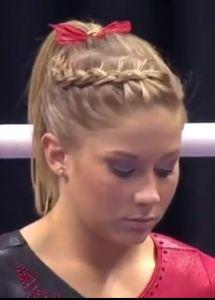 Gymnastics-Hairstyles